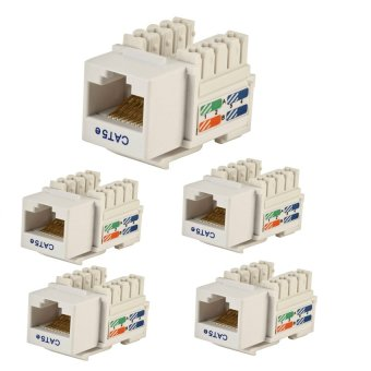 AMP CAT5E IO JACK Keystone or Modular Jack SET OF 5 Price Philippines