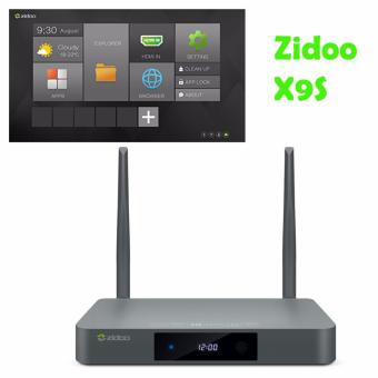 Android TV Box Zidoo X9S Android 6.0 OpenWRT(NAS) Quad Core 2G/16GDual Band WIFI 1000Mbps LAN HDR USB3.0 HDMI IN Recoder SATA 3.0Bluetooth Media Player - intl