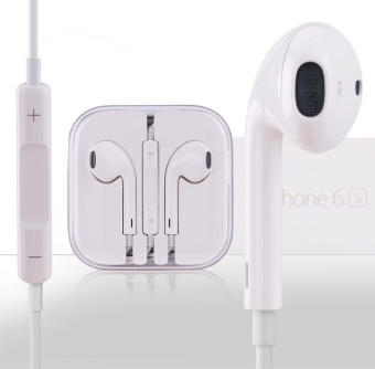 Apple Earpods Headset with Volume Controller and Mic For Apple ipad2/3/4 (White)
