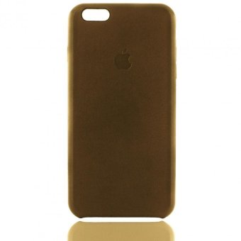 Apple Essentials Leather Coated Case for iPhone 6/ 6s (NeutralBrown)