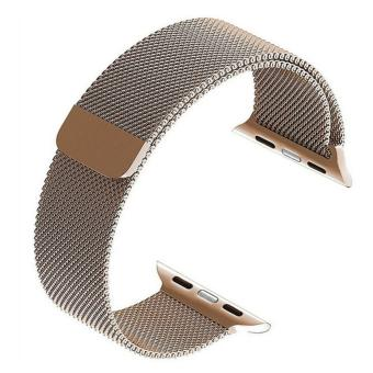 Apple Watch Band - 38mm Milanese Loop Stainless Steel BraceletStrap Magnetic Closure Clasp - Replacement Wrist Band for iWatchSeries 1 Series 2 Sport & Edition - intl