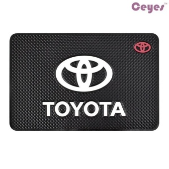 Auto Car Anti-slip Mat Fit for All Cars Auto Washable Non-slip Matfor Toyota Cell Phone GPS Keys Coins Holder Car Styling - intl