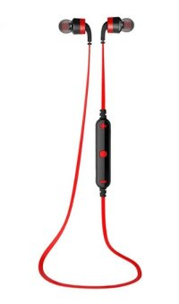 AWEI A960BL Noice Cancelling Bluetooth In-Ear Headphone Earphonewith Mic - (Red) Price Philippines