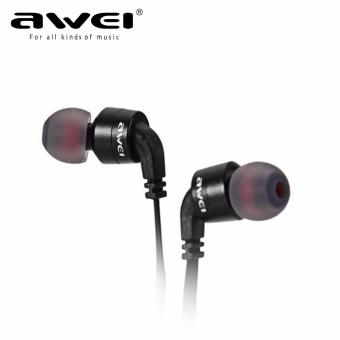 AWEI A960BL Noise Cancelling Bluetooth In-Ear Headphone Earphonewith Mic(Black) Price Philippines
