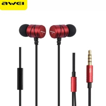 Awei Q5i Built-in Mic On-cord Control In-ear Headphone
