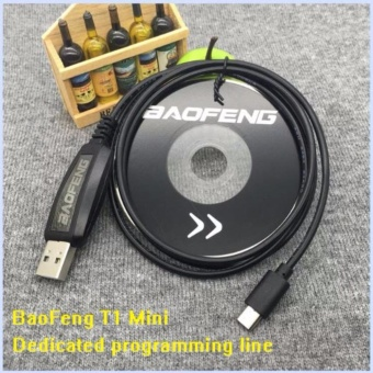 BAOFENG BF-T1 Mini dedicated USB Programming Cable With CD