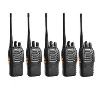 Baofeng Pofung BF-888S Two Way Radio (Black) Set of 5