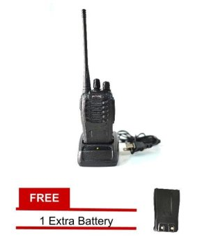 Baofeng / Pofung BF-888s UHF Transceiver Two-Way Radio with FREE Extra Battery