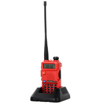 Baofeng / Pofung UV5R VHF/UHF Dual Band Two-Way Radio (Red)