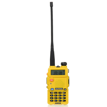 Baofeng / Pofung UV5R VHF/UHF Dual Band Two-Way Radio (Yellow)