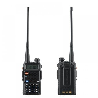 Baofeng/Pofung UV5R VHF/UHF Dual Band Two-Way Radio 8W (Black)