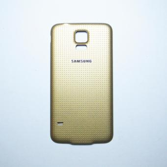 Battery Door Back Cover with Rubber Seal Waterproof Gasket ForSamsung Galaxy S5 (Copper Gold)