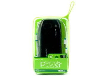 BAVIN Salamander 15000mAh Power Bank (Black)