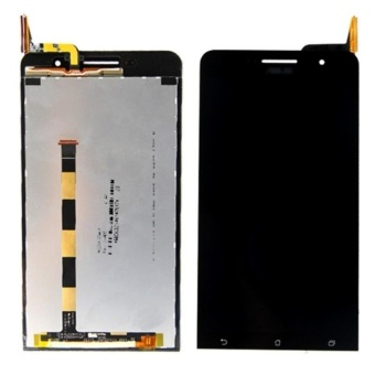 Black Touch Screen Digitizer LCD Display Assembly for Asus ZenFone6 A600CG+3m Tape+Opening Repair Tools+glue - intl