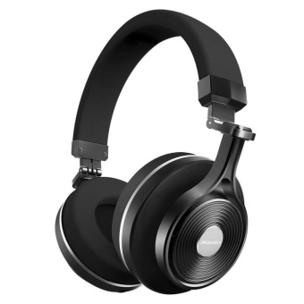 Bluedio T3 Plus Wireless Bluetooth Headphones headset withMicrophone/Micro SD Card Slot bluetooth headphone Musicheadset(Black) - intl Price Philippines