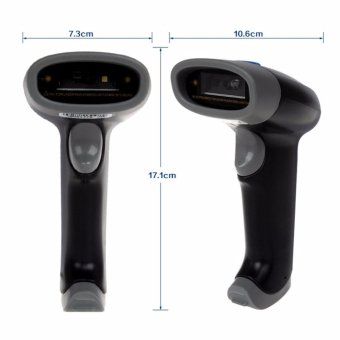 Blueskysea M4 2D 1D Barcode Scanner Reader Wired USB