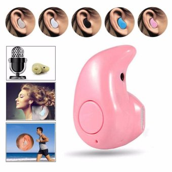 Bluetooth earpiece, Mini S530 Hands-free Bluetooth Earbuds Headset Earphones for iPhone Samsung Galaxy and Other Smartphones(Pink) Price Philippines