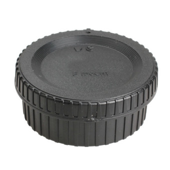 Body Cap with Rear Lens Anti-dust Cover for Nikon AF AI DSLR CameraLens