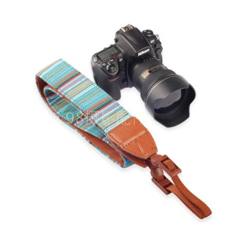 Bohemian universal type camera shoulder strap