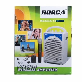 Bosca A-10 Teach Portable Voice Amplifier with Bluetooth (White)#0124 Price Philippines