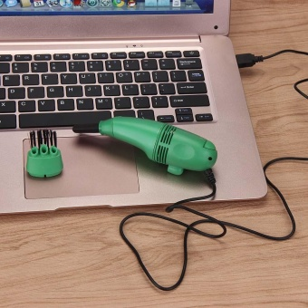 Brush Keyboard USB Dust Collector Vaccum Cleaner For Macbook Air GN- intl
