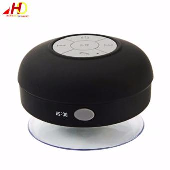 BTS06 Wireless Bluetooth Water Resistant Mini Portable Speaker (Black)