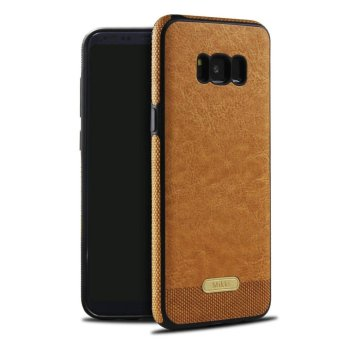 Business Style Leather Back Case Cover for Samsung Galaxy S8Plus - intl