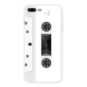 (Buy 1 get 1 free) Creative Camouflage Print Silicone / TPUShockproof Phone Case Cover for Apple iPhone 5 / 5s / SE - WhiteTape - intl