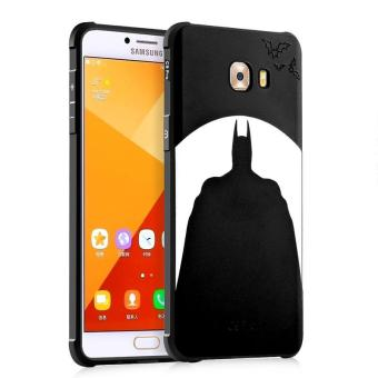 BYT Silicon Debossed Printing Cover Case for Samsung Galaxy C9 Pro - intl