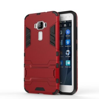 BYT TPU+PC Hybrid Phone Case for Asus ZenFone 3 ZE520KL 5.2inch (Red)