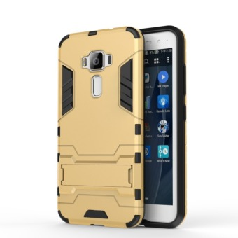 BYT TPU+PC Hybrid Phone Case for Asus ZenFone 3 ZE520KL 5.2inch(Gold)