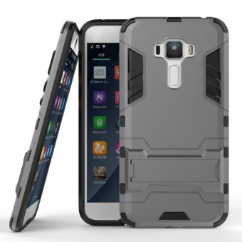 BYT TPU+PC Hybrid Phone Case for Asus Zenfone 3 ZE552KL 5.5inch(Grey)