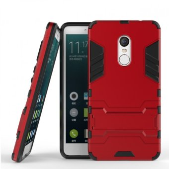 BYT TPU+PC Neo Hybrid Phone Case for Xiaomi Redmi Note 4 (Red)