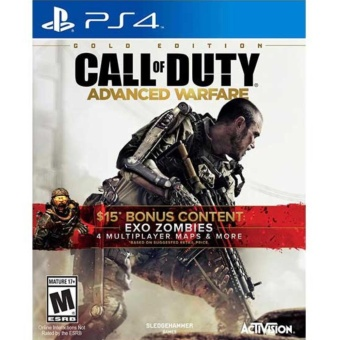 CALL OF DUTY ADVANCED WARFARE GOLD EDITION PS4 GAME R3,R1 MINTCONDITION
