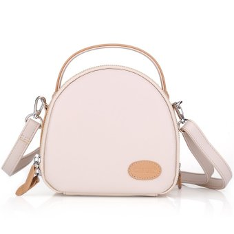 Camera Case Shoulder Bag For Fujifilm Polaroid Instax Mini8 90 750S (Beige Shell) - Intl
