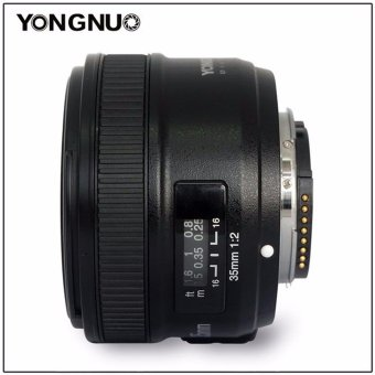 Camera Lens Yongnuo YN35mm F2.0 AF/MF Fixed Focus Lens for Nikon FMount D3200 D3300 D5100 D90 DSLR Cameras