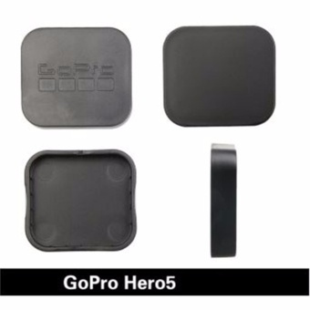 Cameras Protective Lens Black Hard Lens Protective Case Cover CapHat For Go Pro Hero 5 Gopro Hero 5 Session Action CameraAccessories (Black)