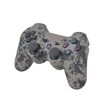 Camouflage Camo Wireless Game Controller Bluetooth Gamepad for PS3 Controller Dualshock 3 Joystick Console   - intl