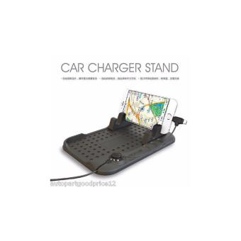 Car Holder Dashboard Stand USB Mount Charger Cradle Non-Slip Padfor Phone Price Philippines