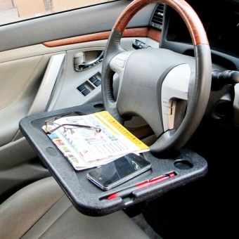 Car Laptop Stand Notebook Desk Steering Wheel Tray Table Holder CarAccessories