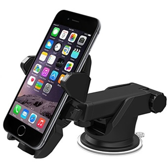 Car Mounts + Adjustable 360 Degree Car Holder for 3.5-6 Inch Cellphones - intl