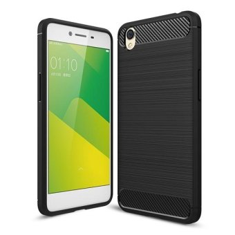 Carbon Rugged Armor Cover Case for Oppo A37 / Oppo Neo9(black)