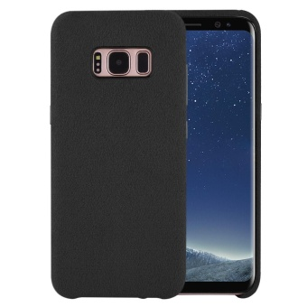 Case for Samsung Galaxy S8 Ultra Slim Back Alcantara Cover (Black) - intl