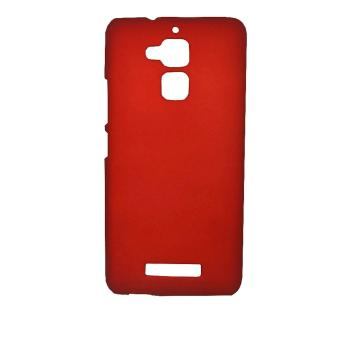 Cases Place Rubberized Hard Case for Asus Zenfone 3 Max ZC520TL(Red)