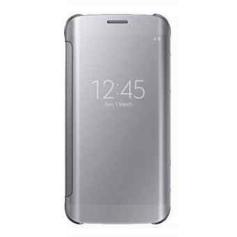 Clear Flip View Cover for Samsung Galaxy S7 Edge (Silver) Price Philippines