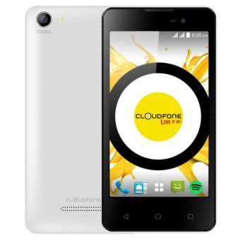 CloudFone Excite 8GB (White) with Free Spotify Earphones