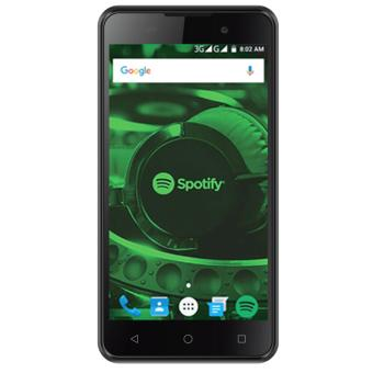 CloudFone Go SP 8GB (Black) with Free Spotify Earphones