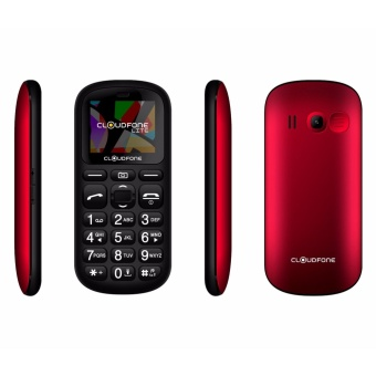 Cloudfone LITE SENIOR Feature Phone Red
