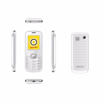 Cloudfone PREMIER Feature Phone White Silver