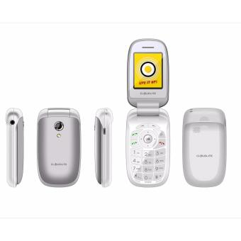 Cloudfone ULTIMATE Feature Phone Silver